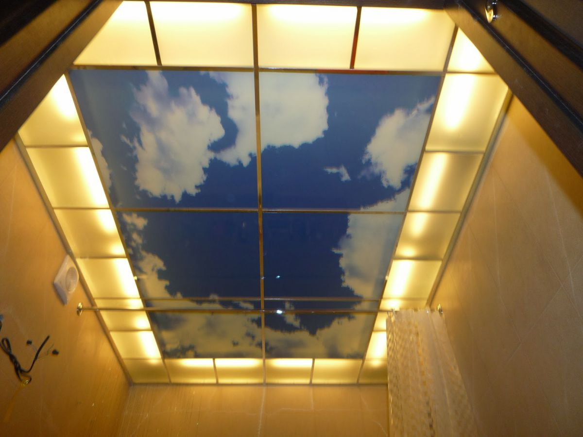 Потолки современной квартиры. Подвесные модульные конструкции, обшивка потолка. Натяжные потолки 4630