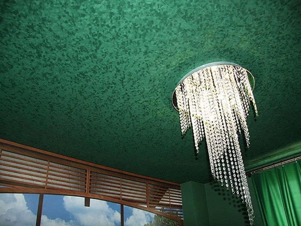Потолки современной квартиры. Подвесные модульные конструкции, обшивка потолка. Натяжные потолки 4641