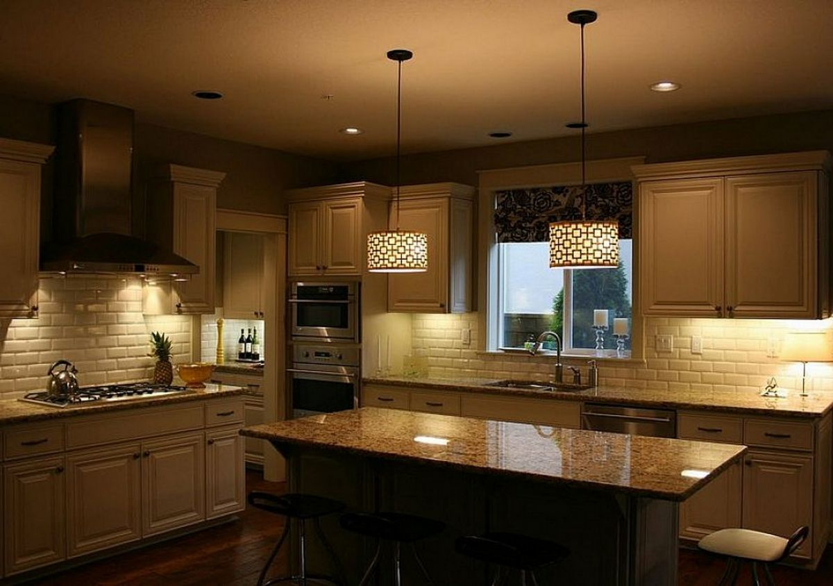 Современная кухня. Организация освещения и декор 4643