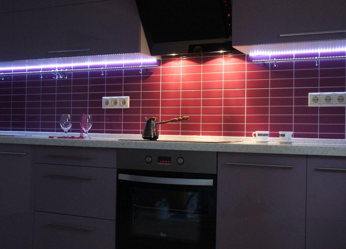 Современная кухня. Организация освещения и декор 4645