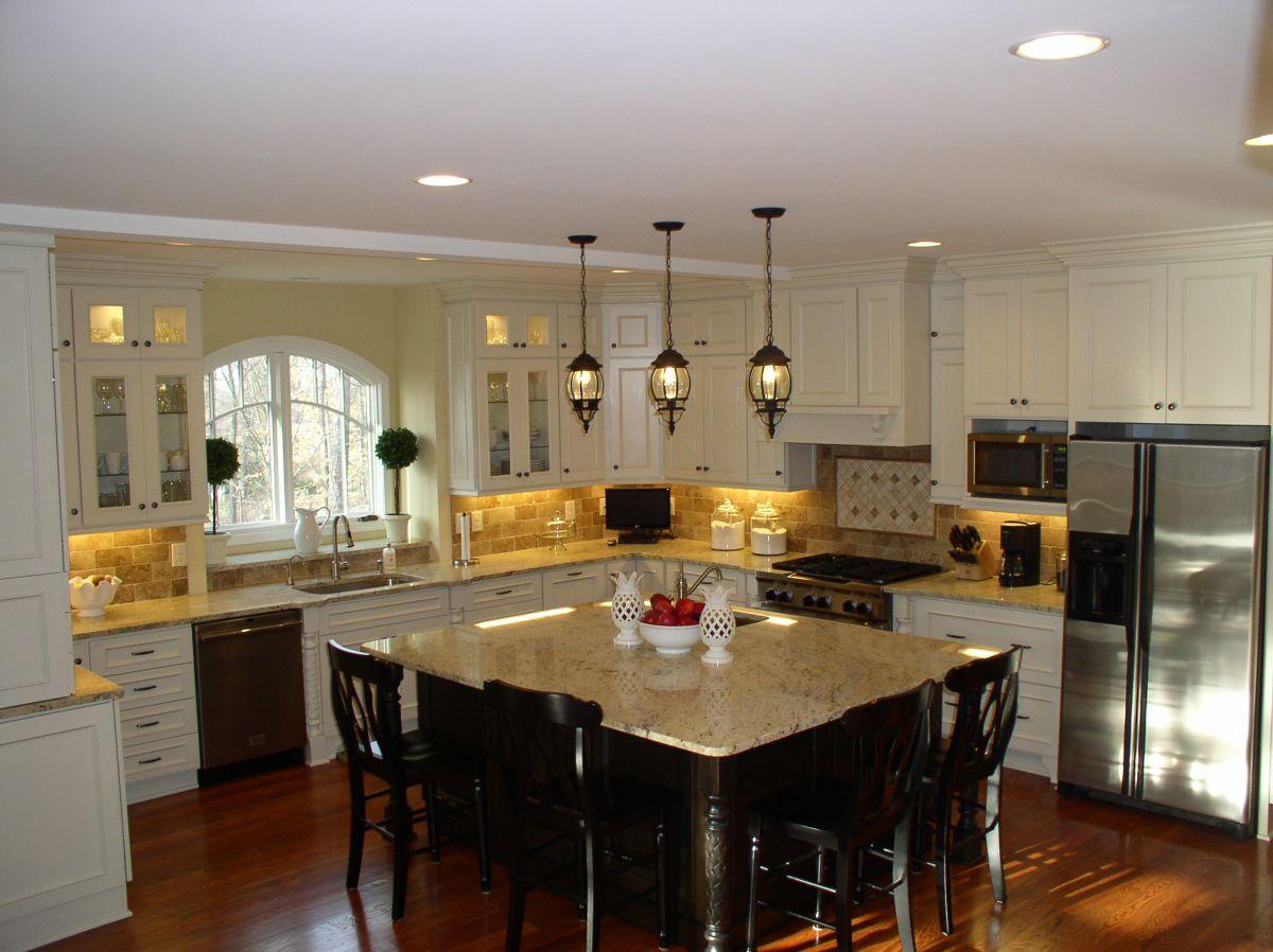 Современная кухня. Организация освещения и декор 4646