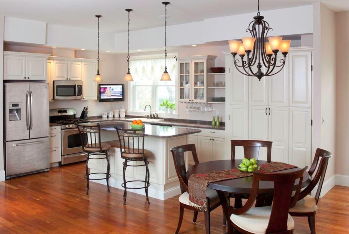 Современная кухня. Организация освещения и декор 4652