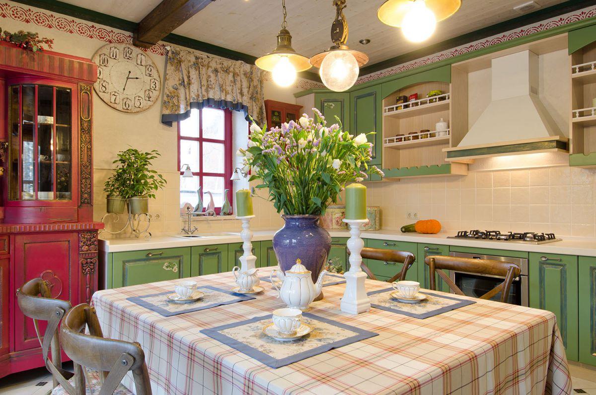 Современная кухня. Организация освещения и декор 4655