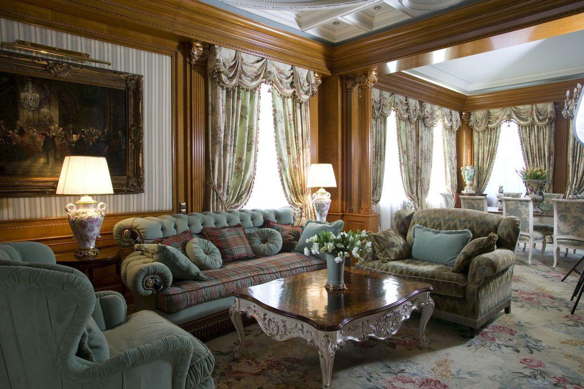 Викторианский стиль для современной квартиры и коттеджа - этикет и традиции, романтика практицизма 4668