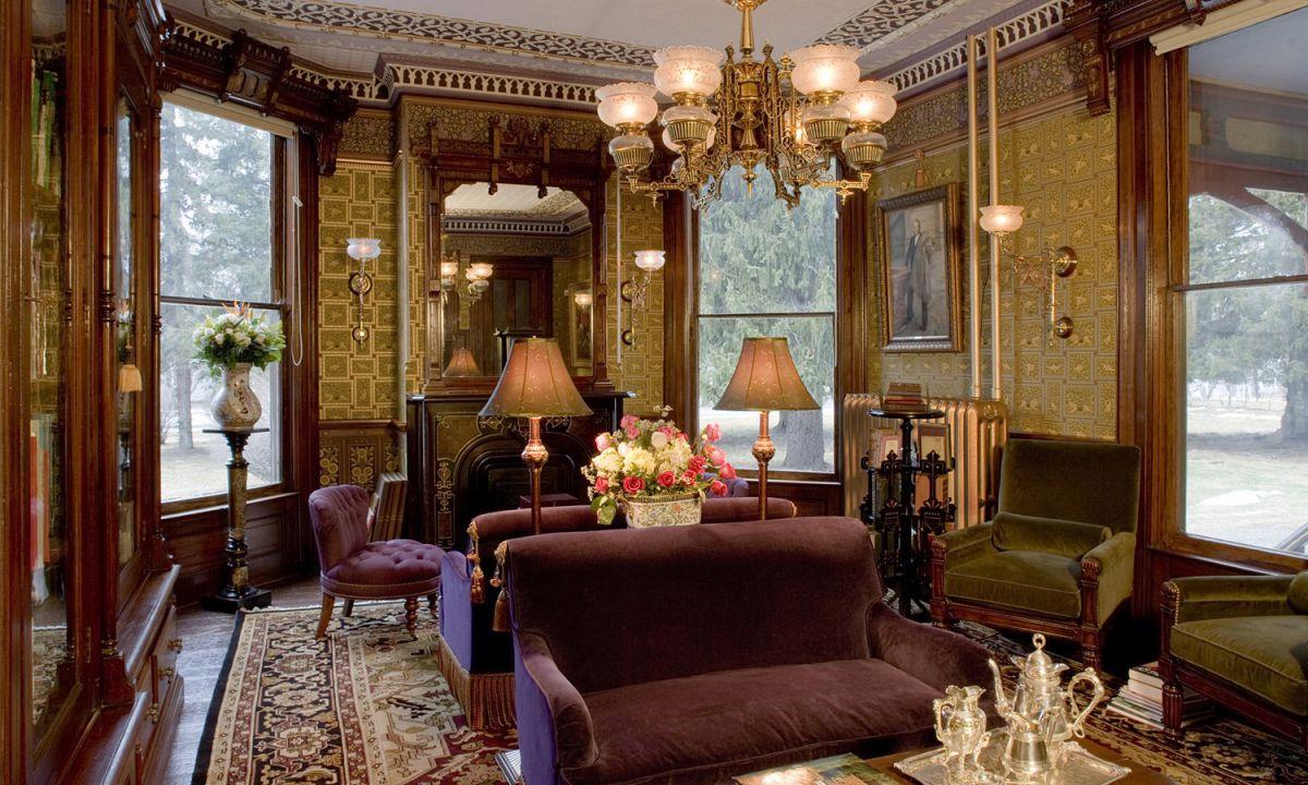 Викторианский стиль для современной квартиры и коттеджа - этикет и традиции, романтика практицизма 4670
