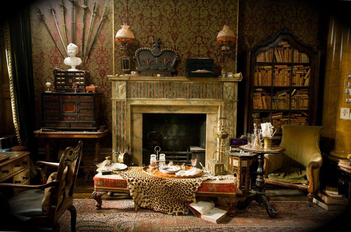Викторианский стиль для современной квартиры и коттеджа - этикет и традиции, романтика практицизма 4672