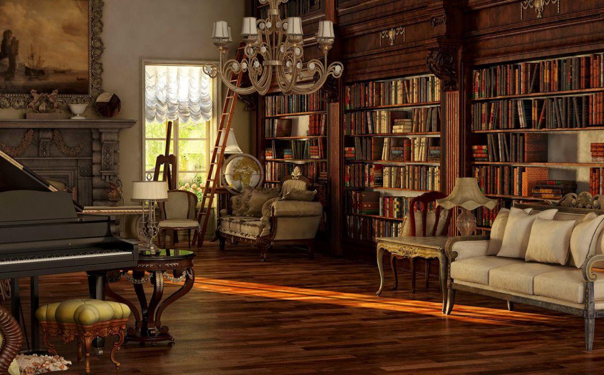 Викторианский стиль для современной квартиры и коттеджа - этикет и традиции, романтика практицизма 4673