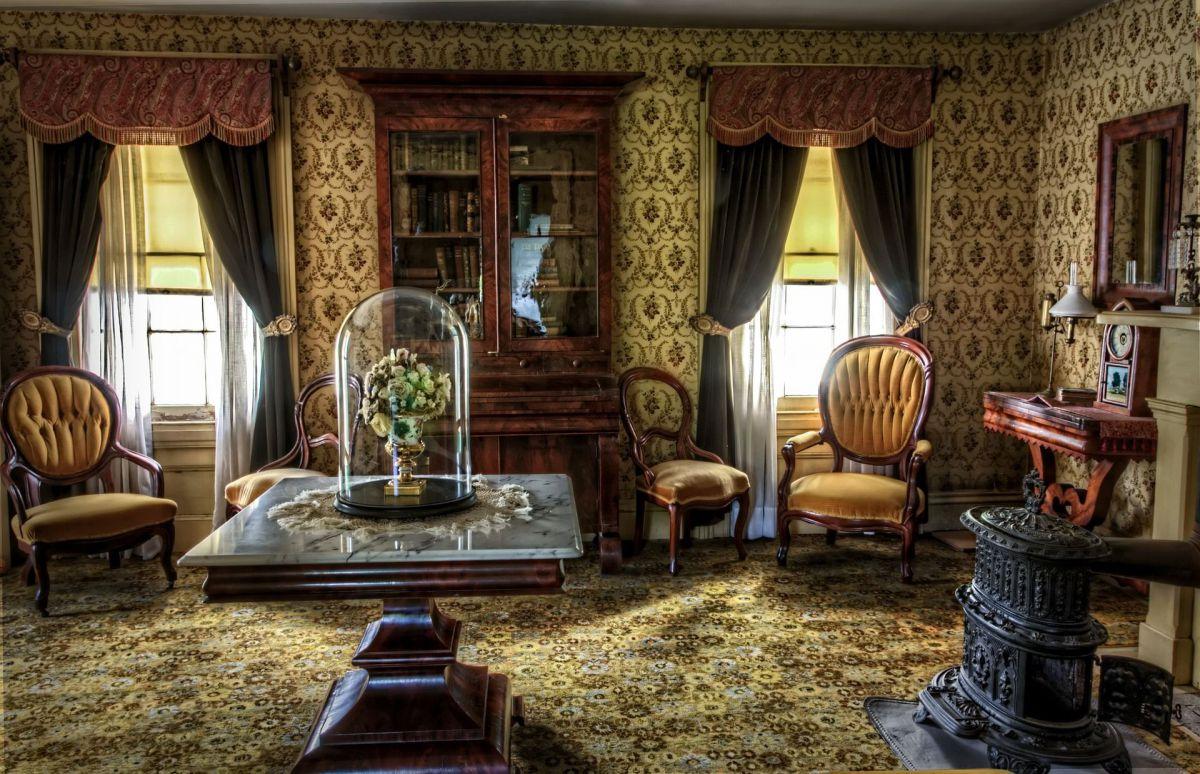 Викторианский стиль для современной квартиры и коттеджа - этикет и традиции, романтика практицизма 4674