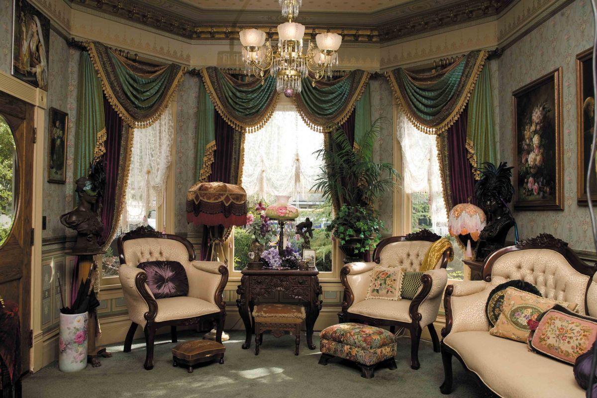 Викторианский стиль для современной квартиры и коттеджа - этикет и традиции, романтика практицизма 4675