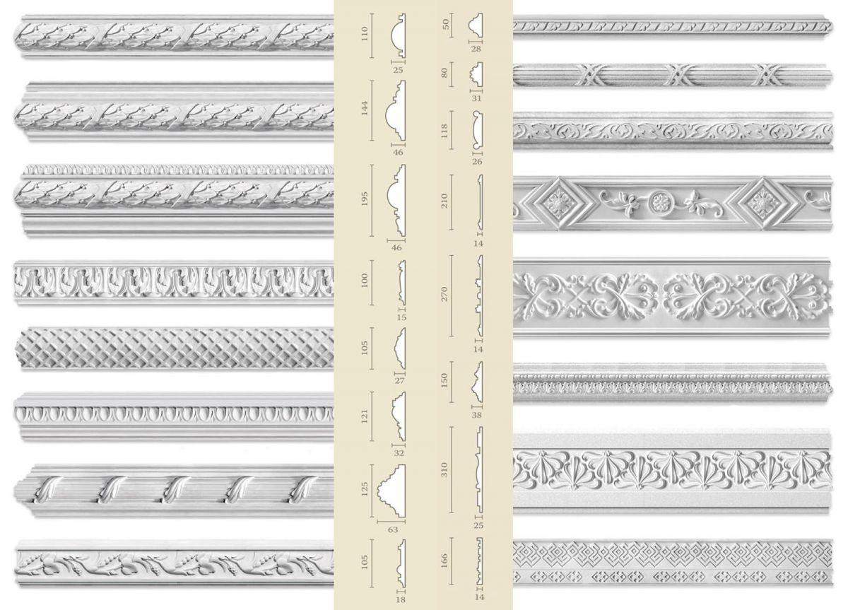 В интерьере - молдинги. Разновидности, применение, стили и материалы 4734