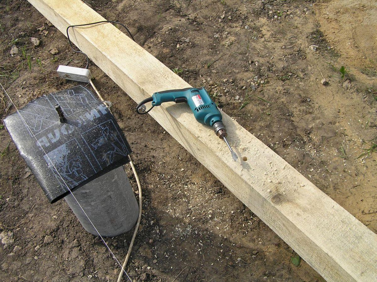 Фундамент из асбоцементных труб для частного дома. Технология устройства  4782