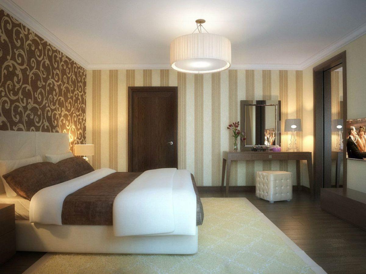 Выбор обоев для спальни. Фактуры, цвета, стили и нюансы  4795