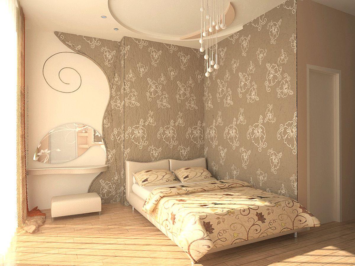 Выбор обоев для спальни. Фактуры, цвета, стили и нюансы  4798