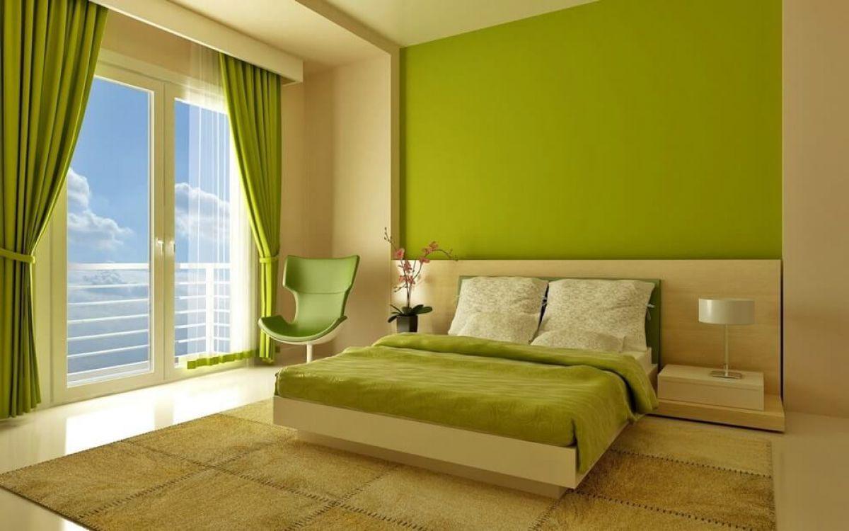 Выбор обоев для спальни. Фактуры, цвета, стили и нюансы  4801