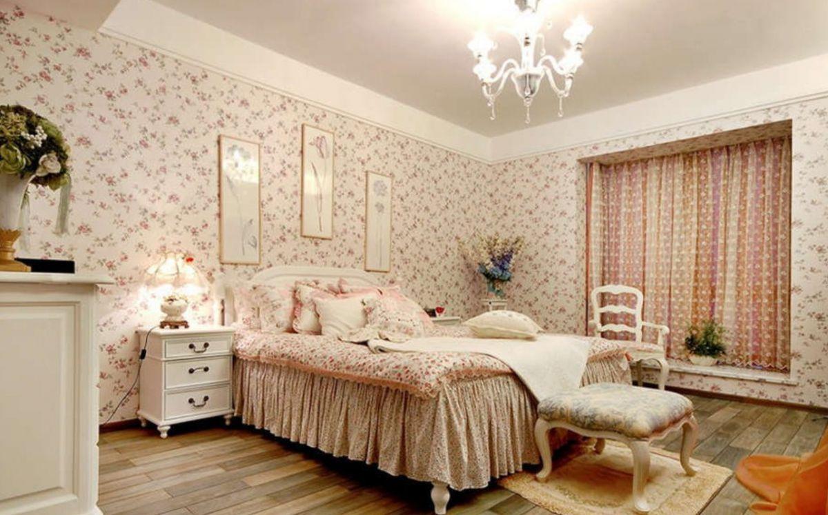 Выбор обоев для спальни. Фактуры, цвета, стили и нюансы  4802