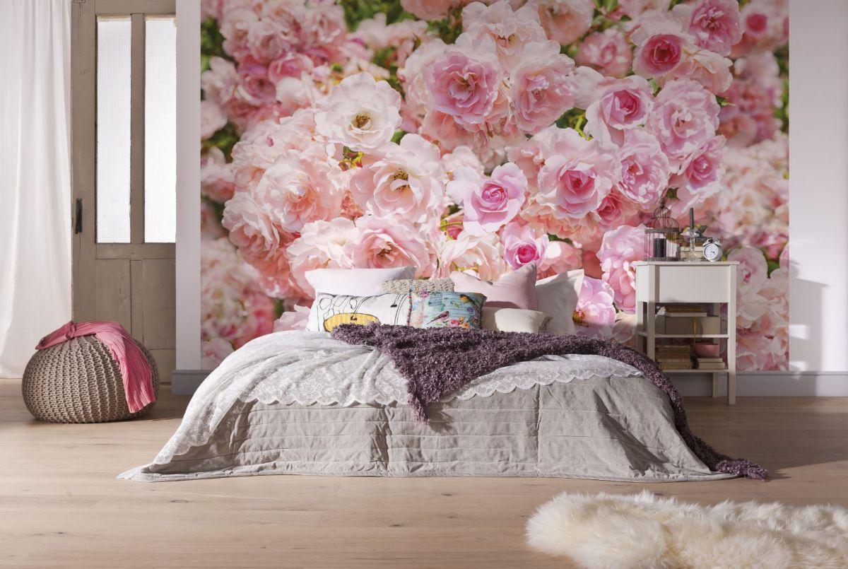 Выбор обоев для спальни. Фактуры, цвета, стили и нюансы  4804