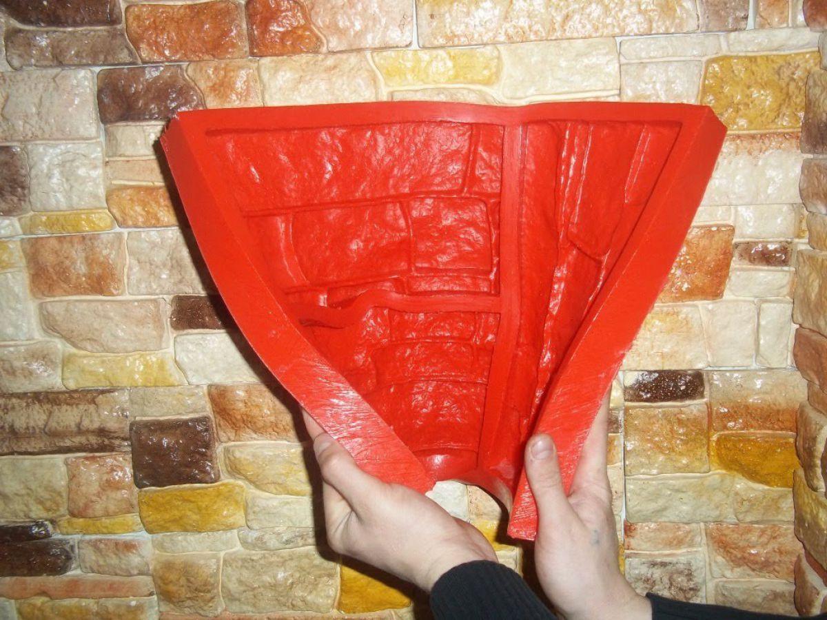 Отделка искусственным камнем, сделанным своими руками. Изготовление форм-матриц  4808