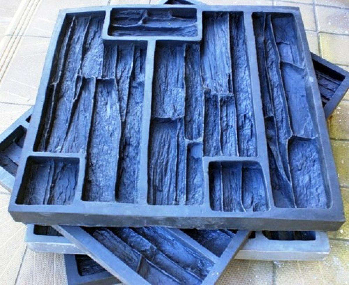 Отделка искусственным камнем, сделанным своими руками. Изготовление форм-матриц  4810