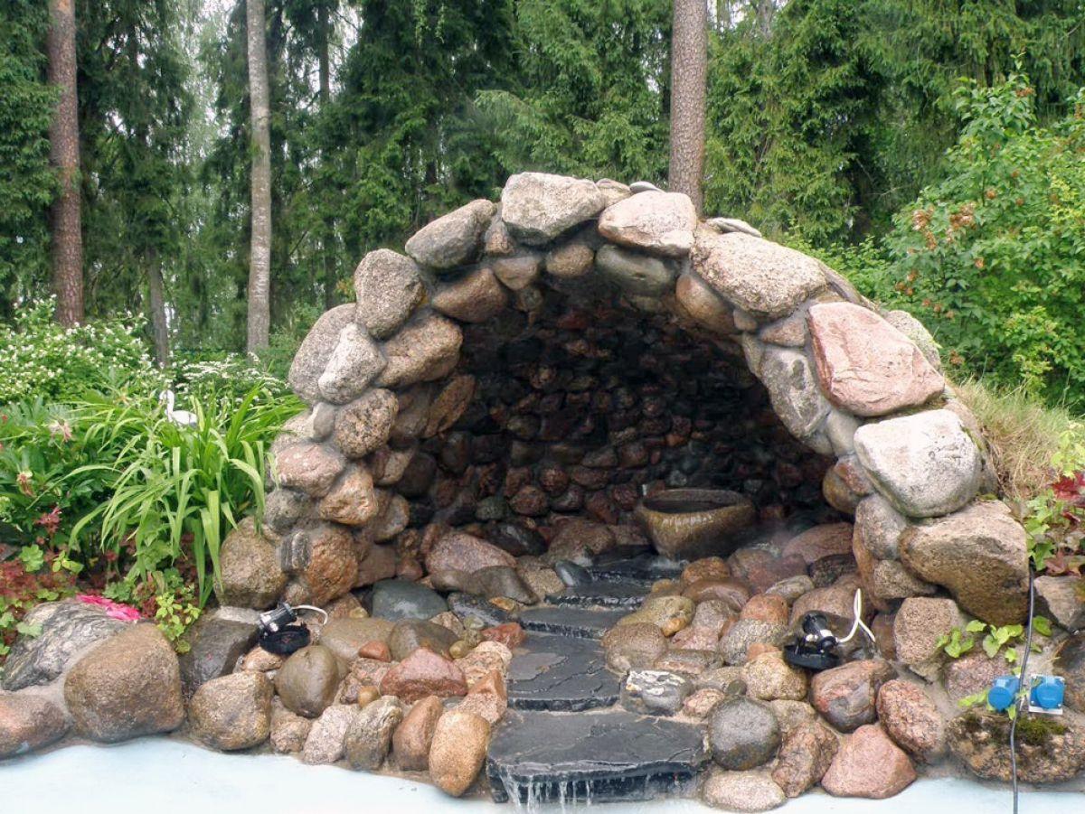 Отделка искусственным камнем, сделанным своими руками. Изготовление камня в домашних условиях 4832
