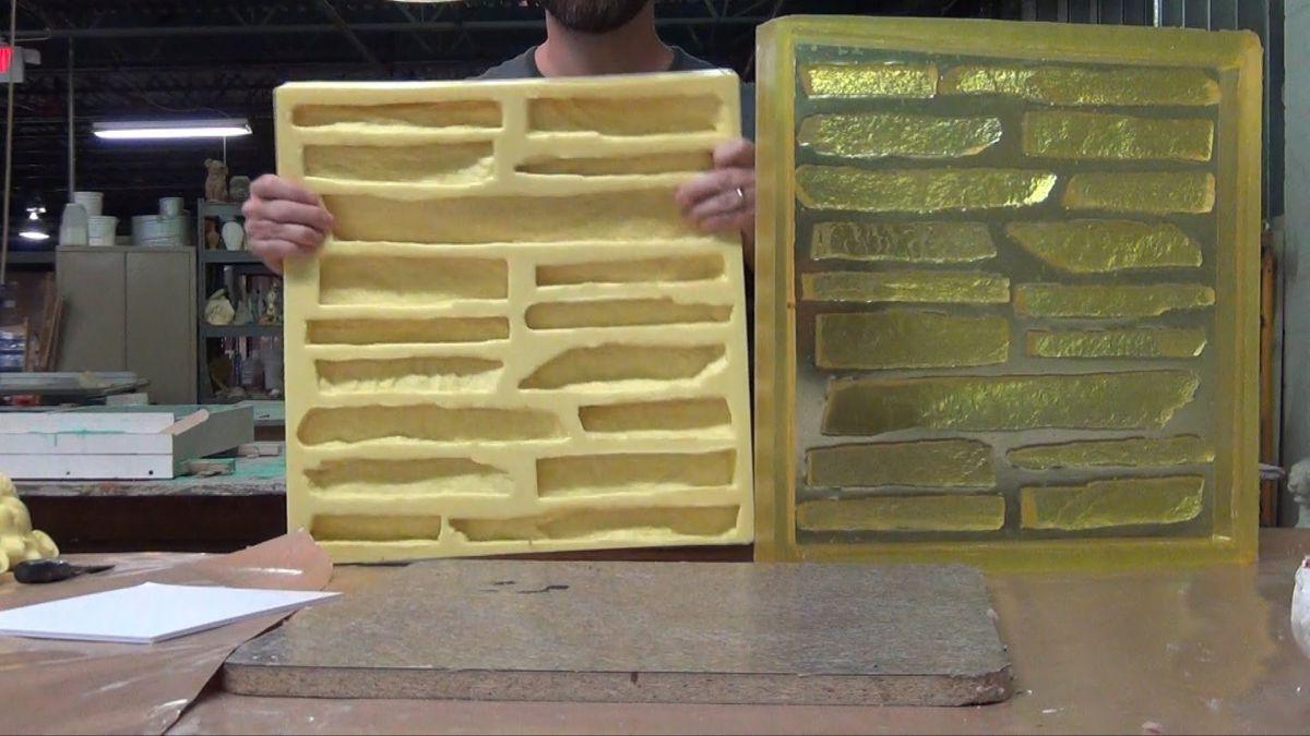 Отделка искусственным камнем, сделанным своими руками. Изготовление камня в домашних условиях 4835