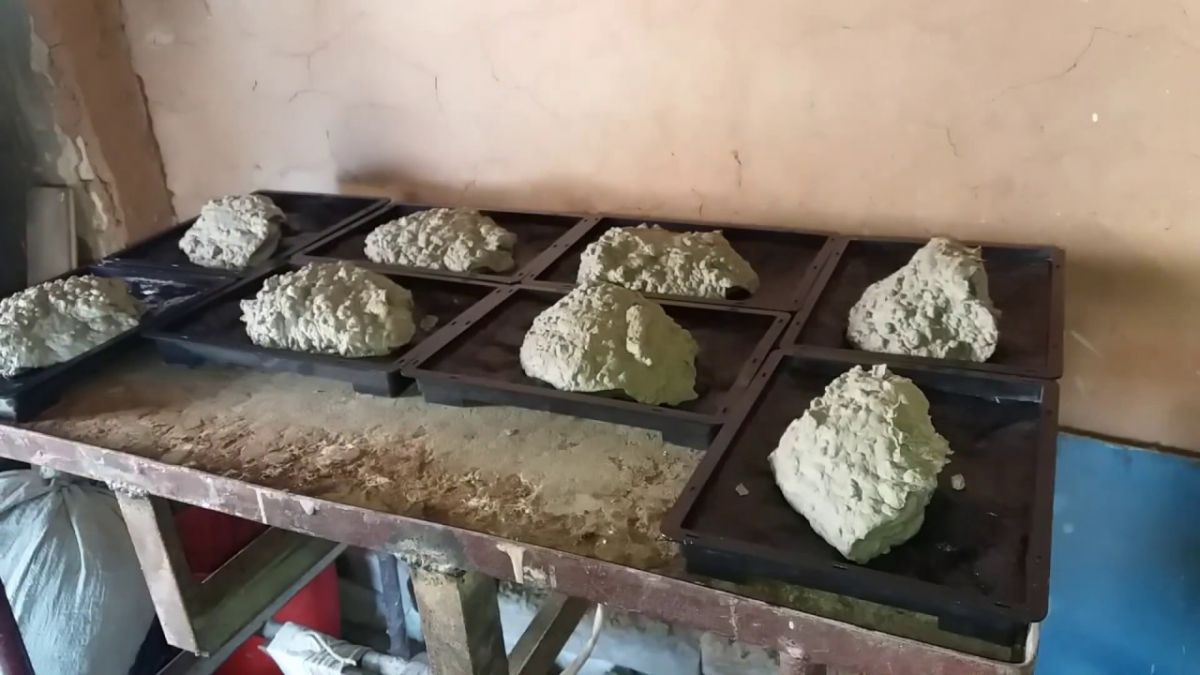 Отделка искусственным камнем, сделанным своими руками. Изготовление камня в домашних условиях 4839