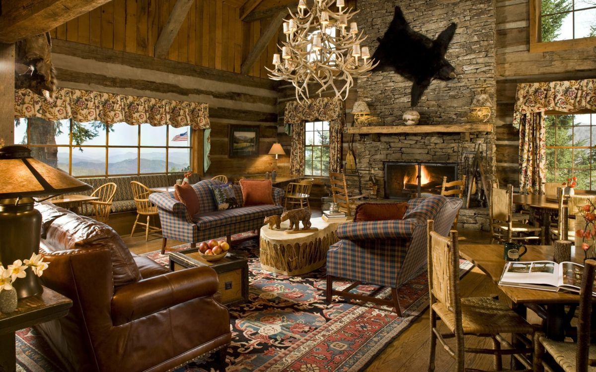 Дизайн в стиле кантри для загородного дома - романтика деревенского стиля и комфорт  4842