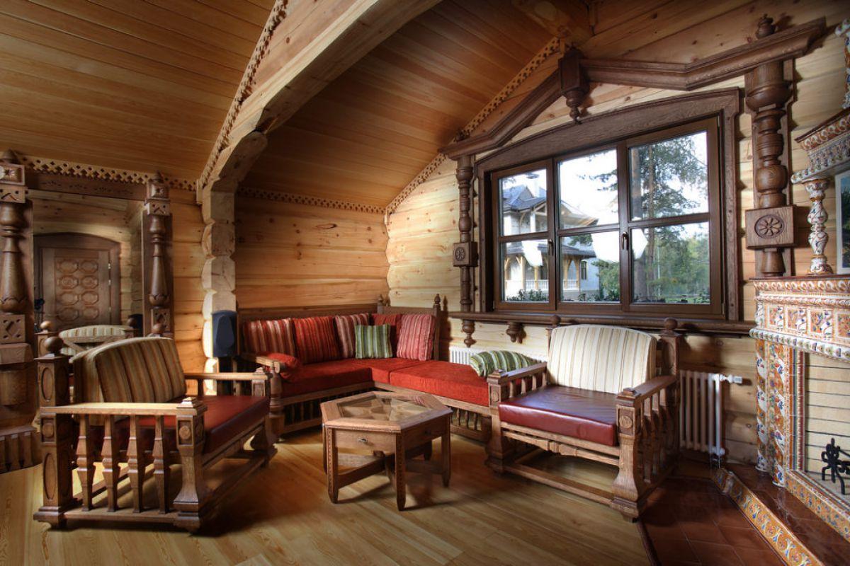 Дизайн в стиле кантри для загородного дома - романтика деревенского стиля и комфорт  4848