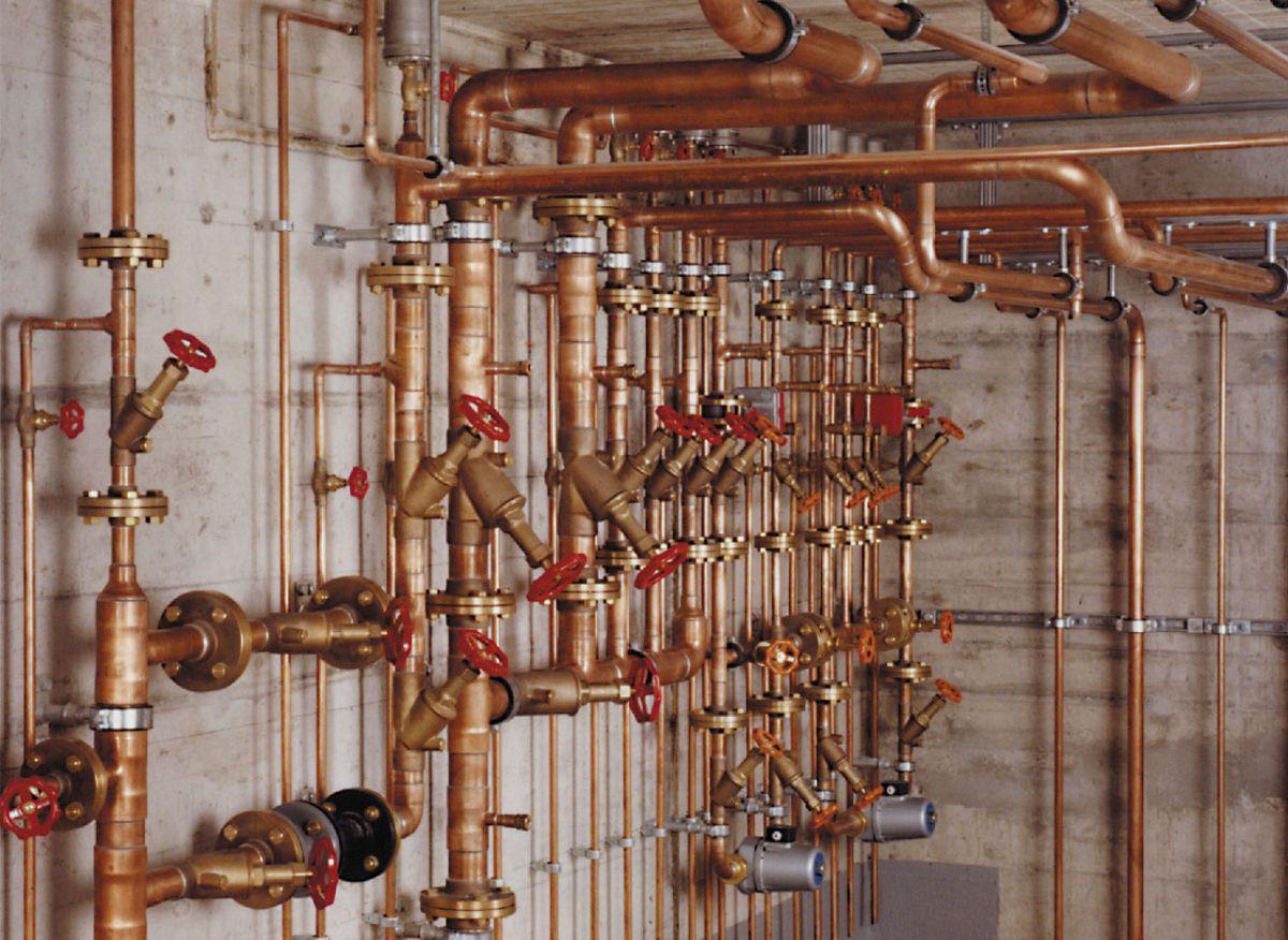 Отопление частного дома. Трубы - виды, особенности и выбор. Металлические трубы 4858