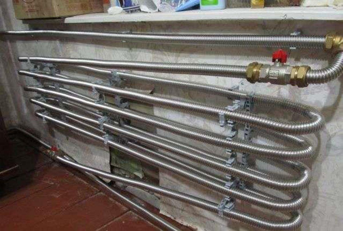 Отопление частного дома. Трубы - виды, особенности и выбор. Металлические трубы 4860