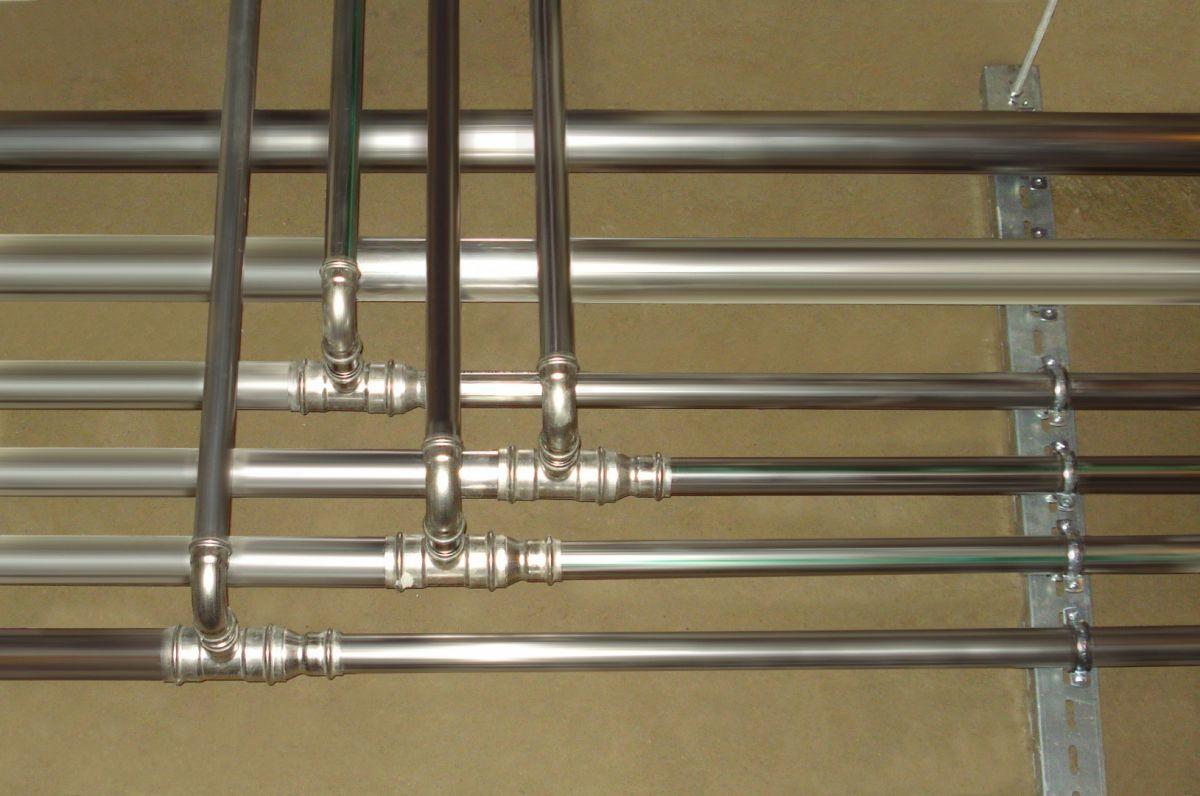 Отопление частного дома. Трубы - виды, особенности и выбор. Металлические трубы 4865