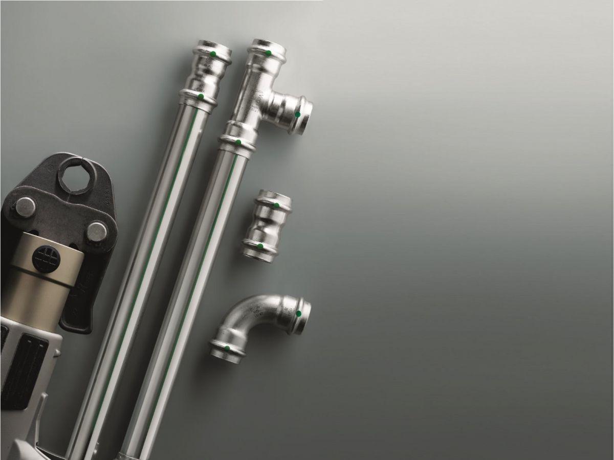 Отопление частного дома. Трубы - виды, особенности и выбор. Металлические трубы 4871