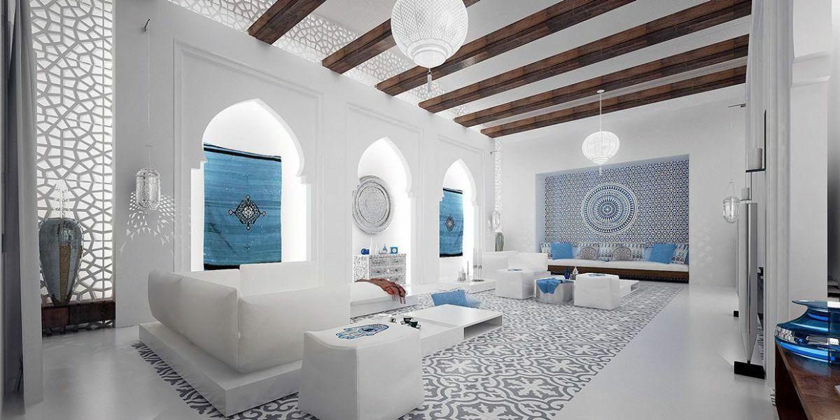 Интерьерный стиль Марокко - парадокс эклектики и уют экзотики 4883