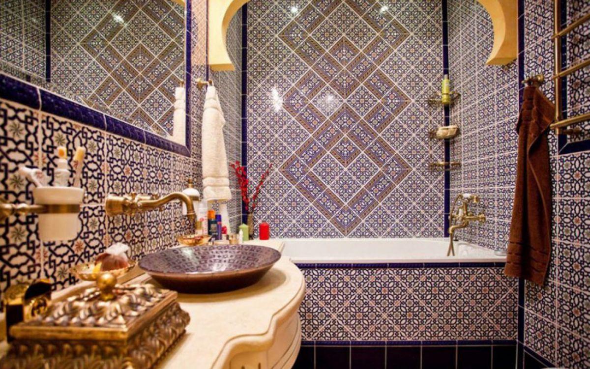 Интерьерный стиль Марокко - парадокс эклектики и уют экзотики 4888