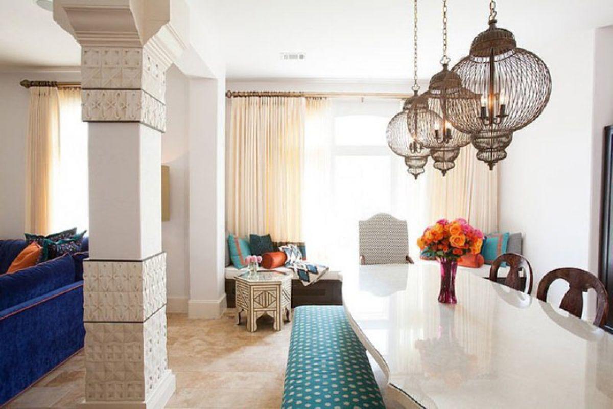 Интерьерный стиль Марокко - парадокс эклектики и уют экзотики 4895