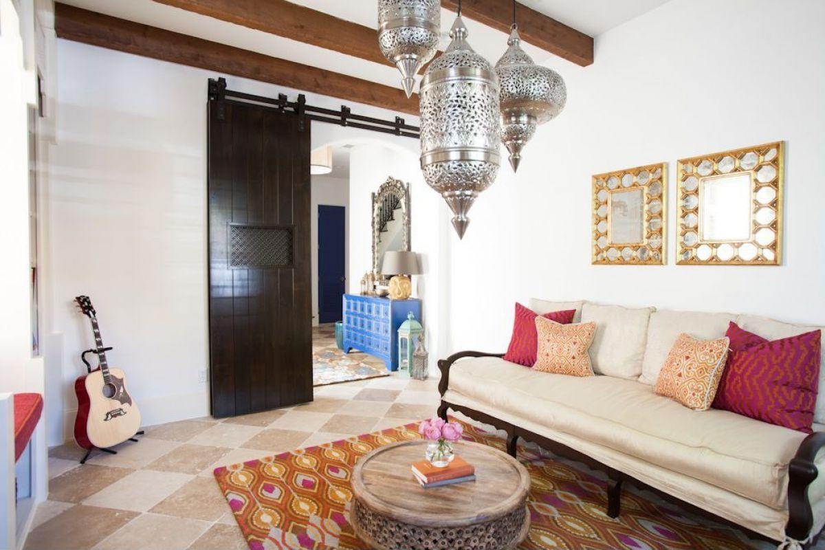 Интерьерный стиль Марокко - парадокс эклектики и уют экзотики 4896