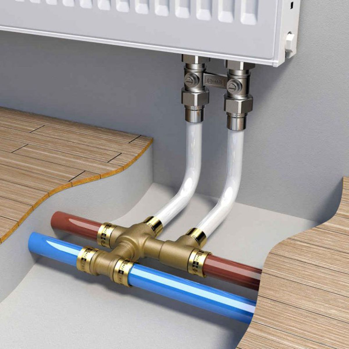 Отопление частного дома. Трубы - виды, особенности и выбор. Полипропиленовые, полиэтиленовые и металлопластиковые трубы. 4907