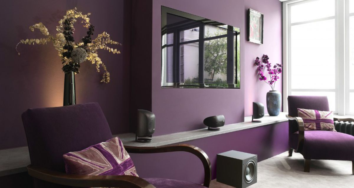 Интерьер в сиреневом цвете. Классика, минимализм, винтаж и лаванда 4937