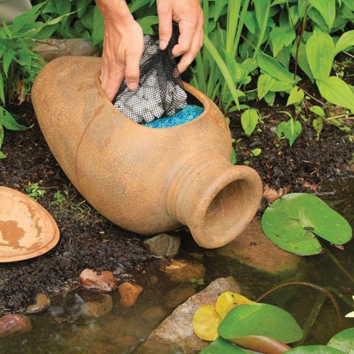 Водоемы и пруды на загородном участке. Методы очистки пруда, виды фильтров 4979