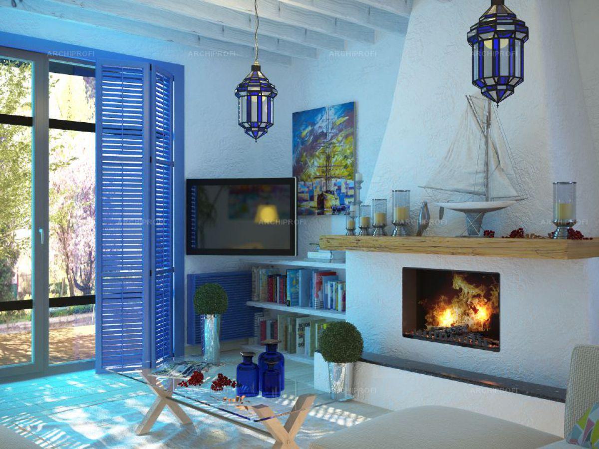 Средиземноморский интерьерный стиль - атмосфера теплого ветра, моря и солнца в домашнем уюте 4997