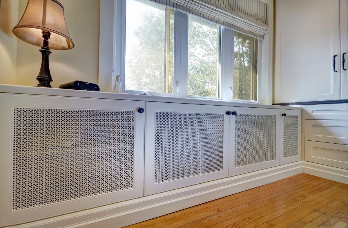 Отопительный радиатор в дизайне интерьера - стиль, бюджет и фантазия 5005