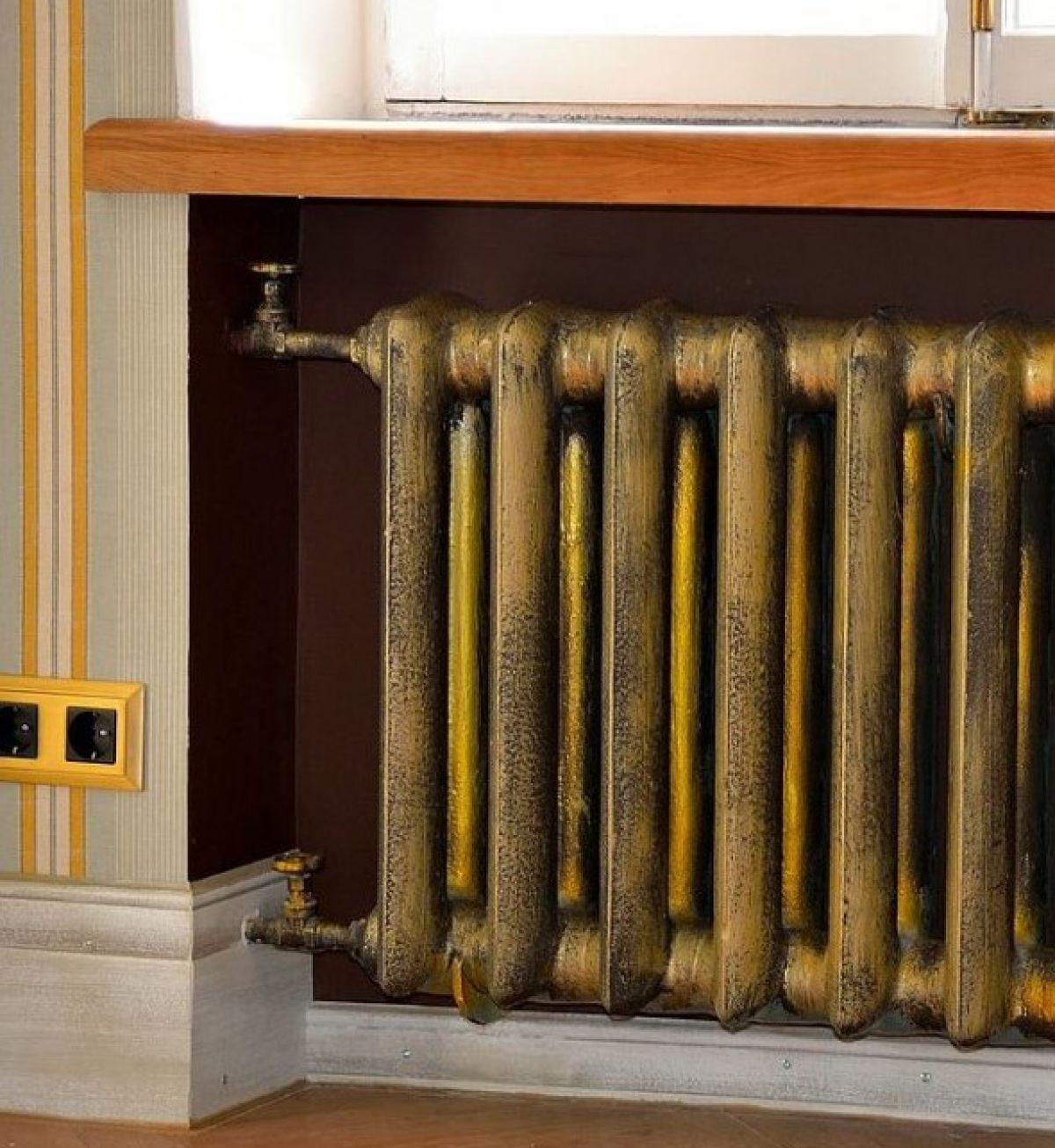 Отопительный радиатор в дизайне интерьера - стиль, бюджет и фантазия 5013