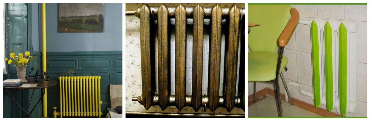 Отопительный радиатор в дизайне интерьера - стиль, бюджет и фантазия 5016