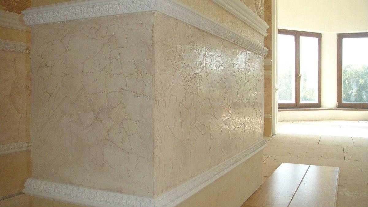 Венецианская штукатурка стен 5256