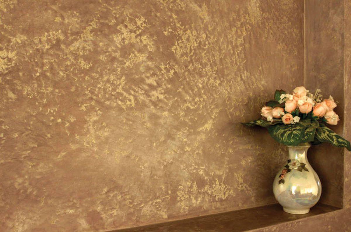 Венецианская штукатурка стен 5257