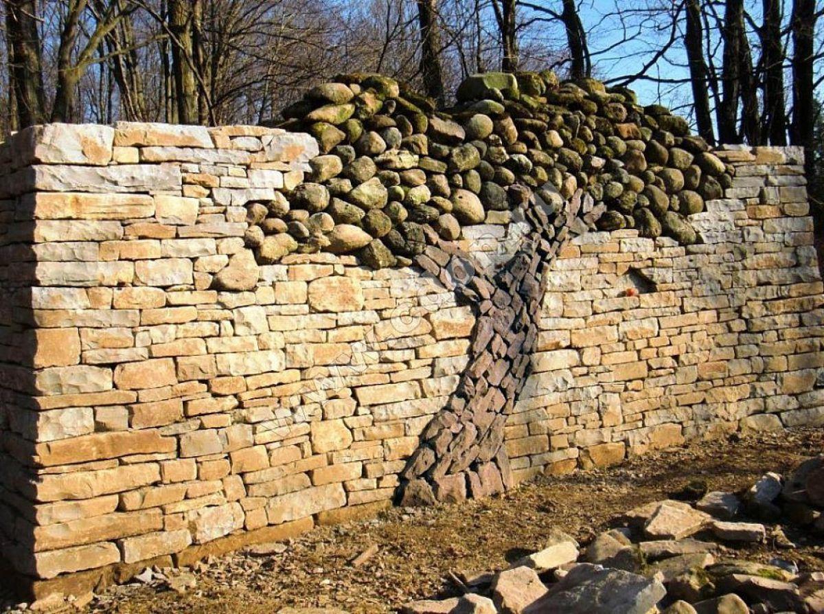 Заборы из камня 5265