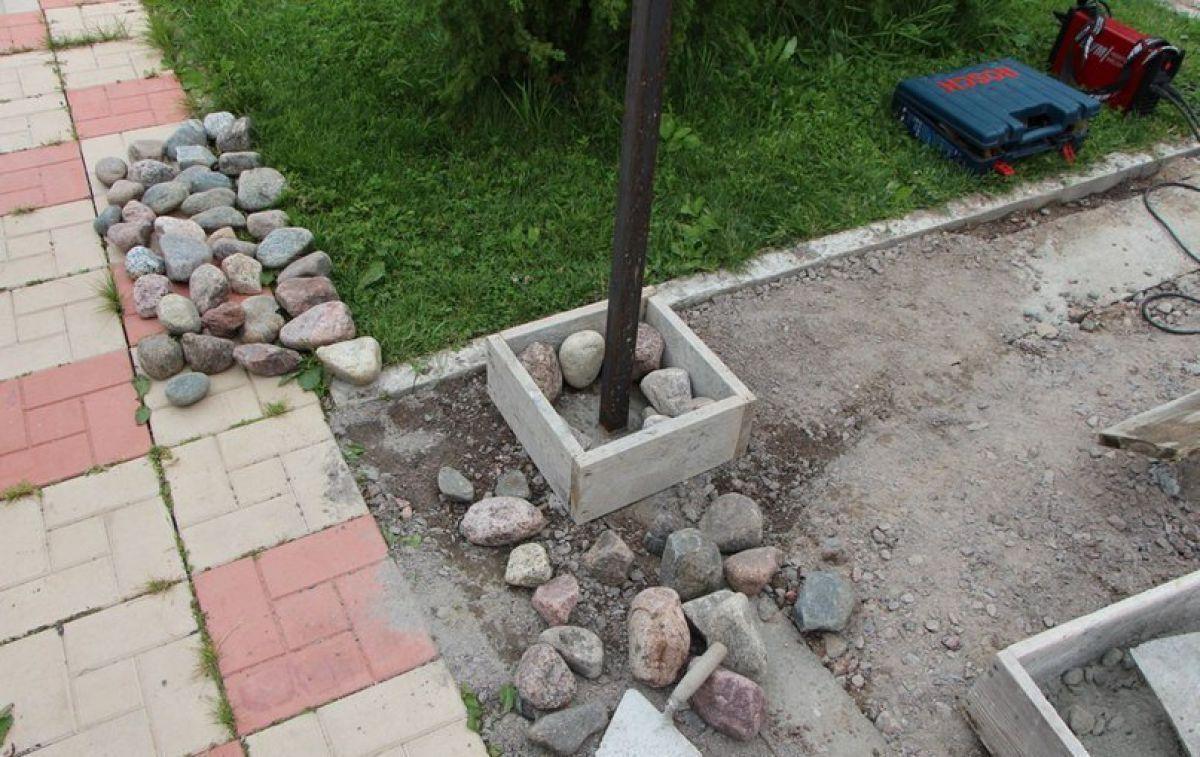 Заборы из камня 5269