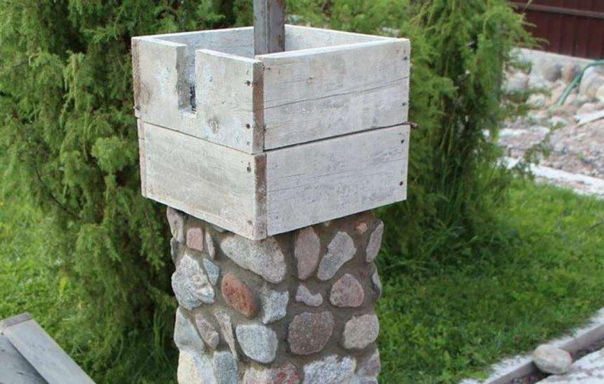Заборы из камня 5273