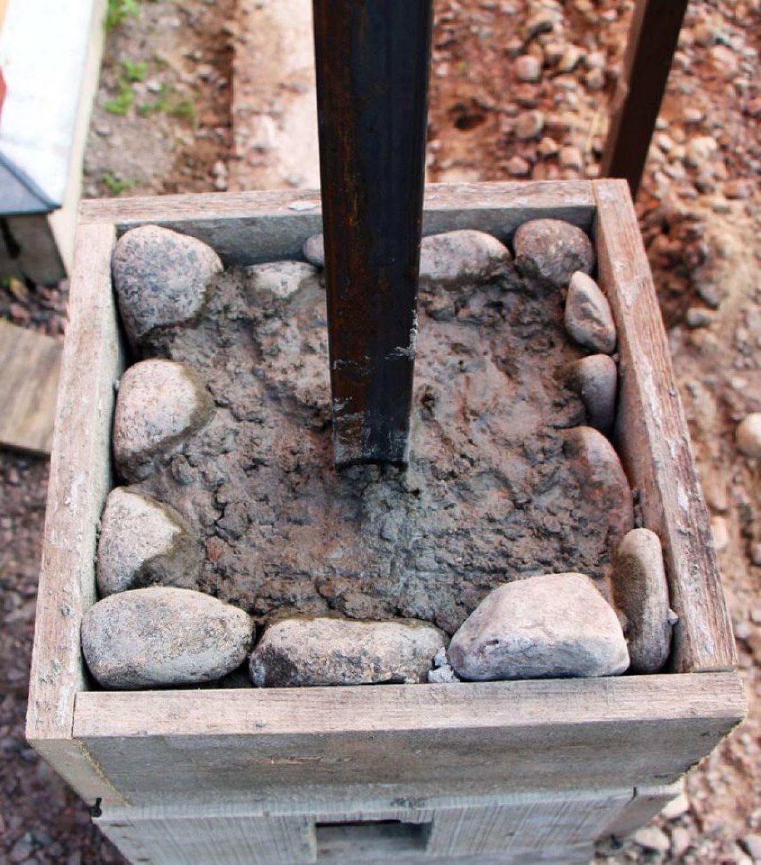 Заборы из камня 5274
