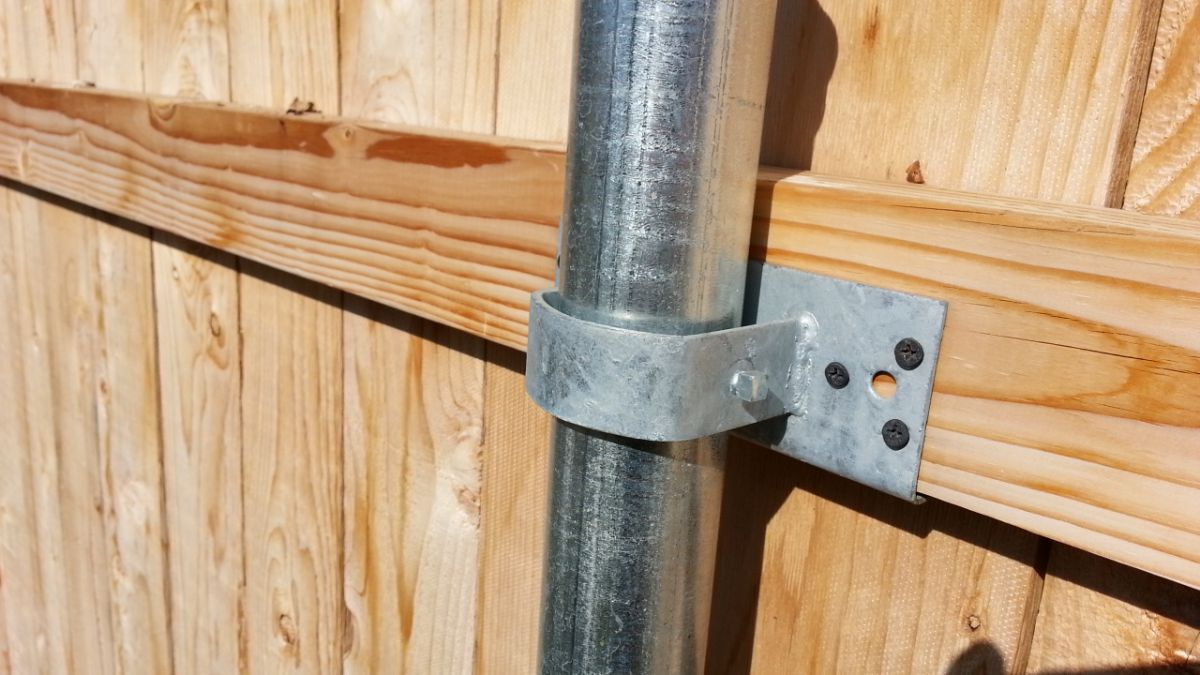 Деревянный забор 5333