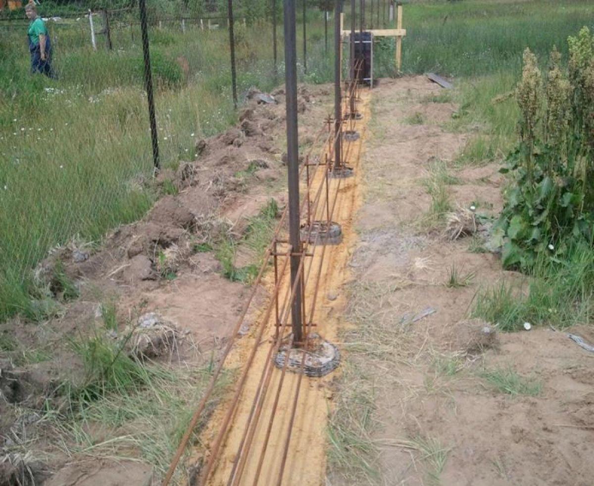 Деревянный забор 5344